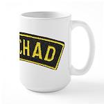 Tchad Legionaire Large Mug