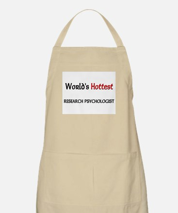World's Hottest Research Psychologist BBQ Apron