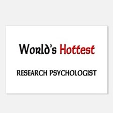 World's Hottest Research Psychologist Postcards (P