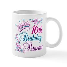 16th Birthday Princess Small Mug