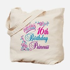 16th Birthday Princess Tote Bag