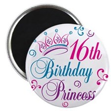 16th Birthday Princess Magnet