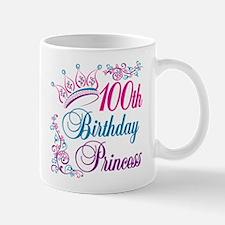 100th Birthday Princess Mug