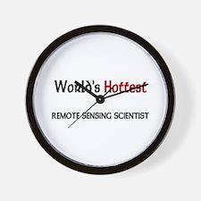World's Hottest Remote Sensing Scientist Wall Cloc