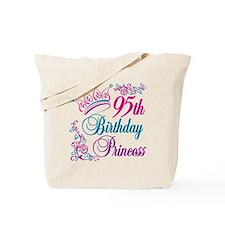 95th Birthday Princess Tote Bag