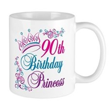 90th Birthday Princess Mug