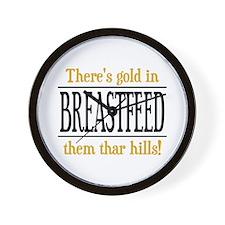 BREASTFEED ~ Wall Clock