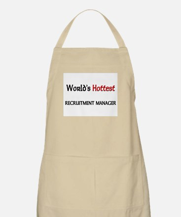 World's Hottest Recruitment Manager BBQ Apron
