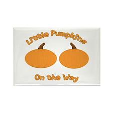Little Pumpkins Rectangle Magnet (10 pack)