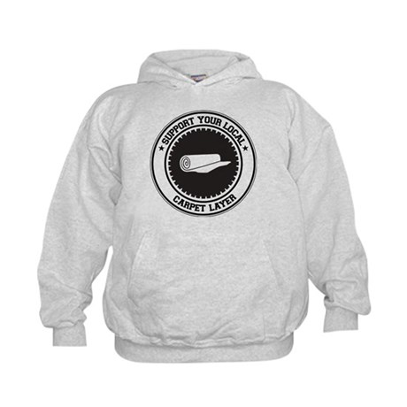 Support Carpet Layer Kids Hoodie