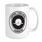 Support Carpenter Large Mug