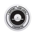 Support Carpenter Ornament (Round)