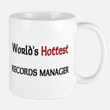 World's Hottest Records Manager Mug