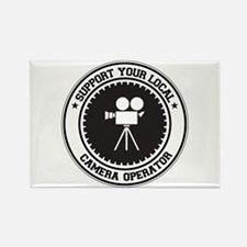 Support Camera Operator Rectangle Magnet
