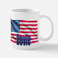 Dovie Personalized USA Gift Mug