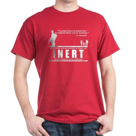"""INERT """"By any means necessary"""" T-shirt"""