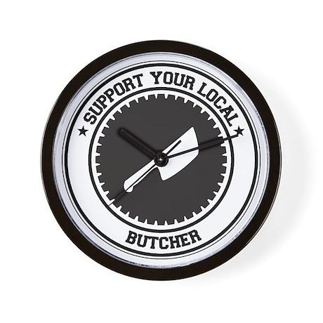Support Butcher Wall Clock