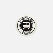 Support Bus Driver Mini Button