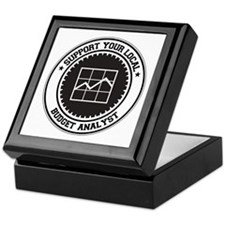 Support Budget Analyst Keepsake Box