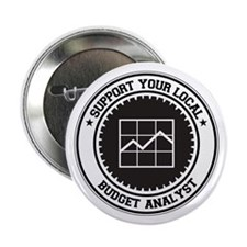 "Support Budget Analyst 2.25"" Button"