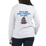 CRF Gift (Cat) Women's Long Sleeve T-Shirt