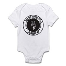 Support Broadcaster Infant Bodysuit