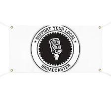 Support Broadcaster Banner