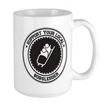 Support Bobsledder Large Mug