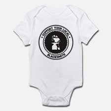 Support Blacksmith Infant Bodysuit