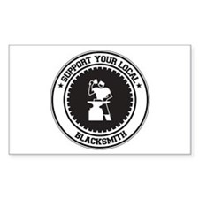 Support Blacksmith Rectangle Decal