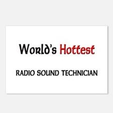 World's Hottest Radio Sound Technician Postcards (