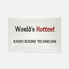 World's Hottest Radio Sound Technician Rectangle M