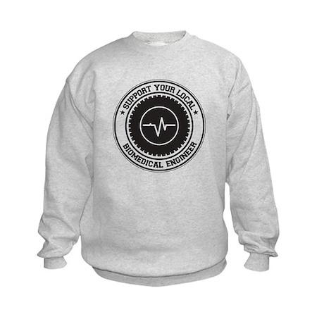 Support Biomedical Engineer Kids Sweatshirt