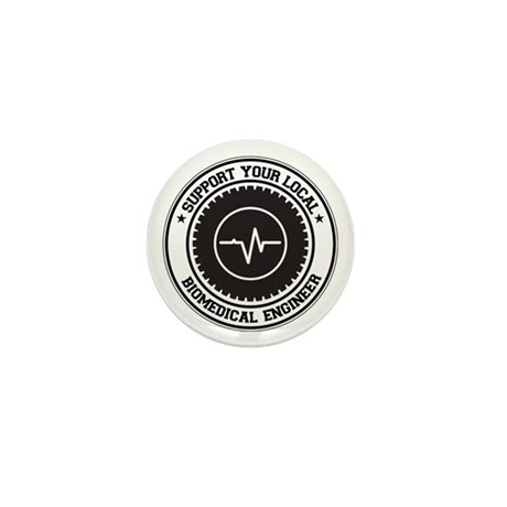 Support Biomedical Engineer Mini Button