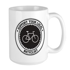 Support Bicyclist Mug