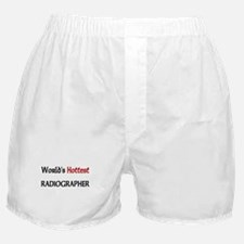 World's Hottest Radiographer Boxer Shorts