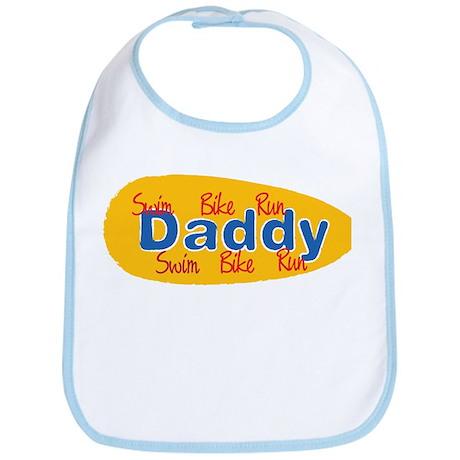 Triathlon Daddy Bib