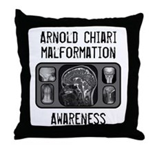 Arnold Chiari Malformation Throw Pillow
