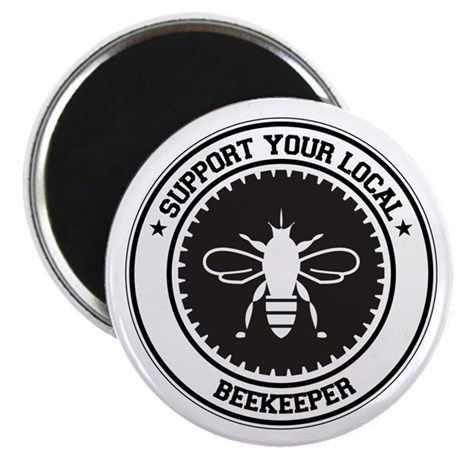 """Support Beekeeper 2.25"""" Magnet (10 pack)"""