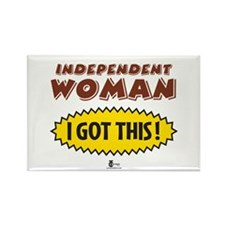 Independent Woman - I Got This! Rectangle Magnet