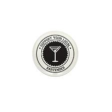 Support Bartender Mini Button