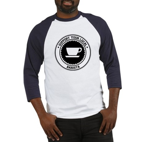Support Barista Baseball Jersey