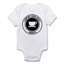Support Barista Infant Bodysuit