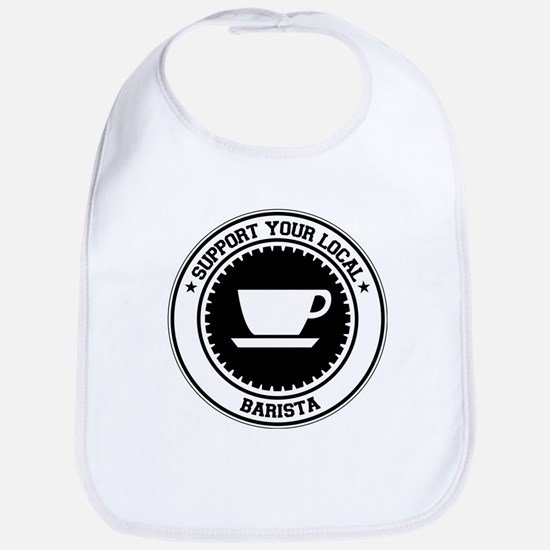 Support Barista Bib