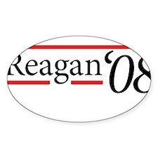 Reagan '08 Oval Decal