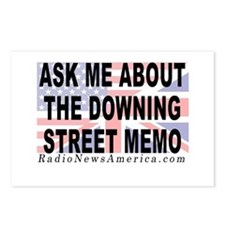 Downing Street Memo Postcards (Package of 8)