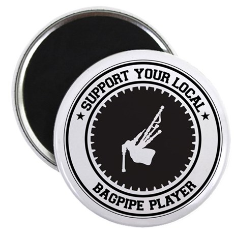 """Support Bagpipe Player 2.25"""" Magnet (100 pack)"""