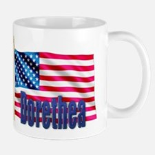 Dorethea Personalized USA Gift Mug