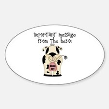 From The Herd, Drink Soy Oval Decal