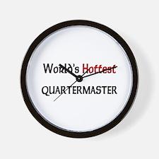 World's Hottest Quartermaster Wall Clock